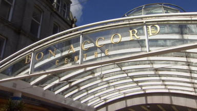 Facelift: Aberdeen's Bon Accord Centre.