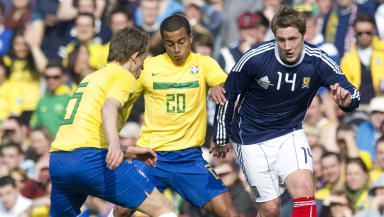 Kris Commons' last appearance for Scotland came in the friendly defeat to Brazil in March.