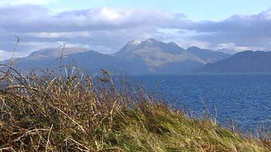 Top rated: Skye has ranked highly in holiday island poll.