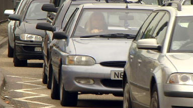 Traffic: Poor air quality leads to serious health problems.