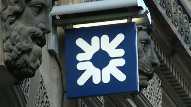 Royal Bank of Scotland: Hit by losses.
