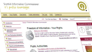 FoI: Call for powers to be extended.