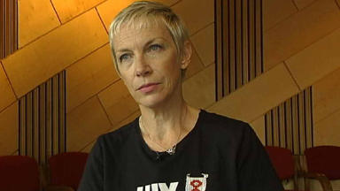 Annie Lennox: 'Delighted'