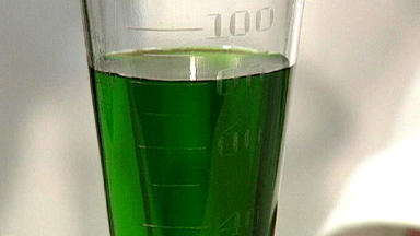 Staff said methadone was found in a cup after it was tested with a dip.