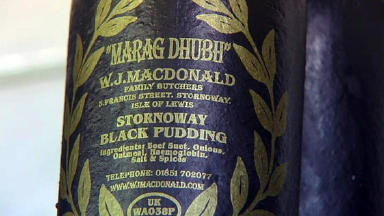 Under threat: The authentic black pudding.