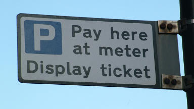 Parking: The Sunday charges will be brought in at the start of the new year (file pic).