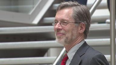 New principal: Professor Ferdinand von Prondzynski
