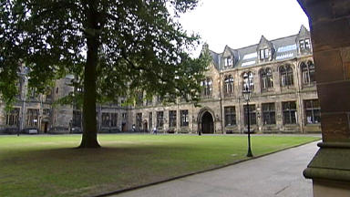 Glasgow University: Students evacuated after chemical spill (file pic).