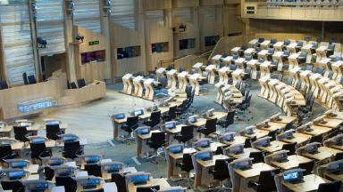 Scottish Parliament: Debate over Lobbying Bill.