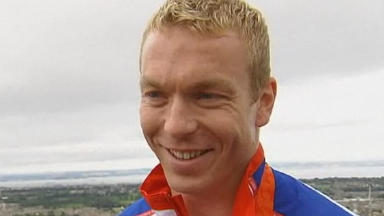 Chris Hoy: Cycling champion is charity patron.