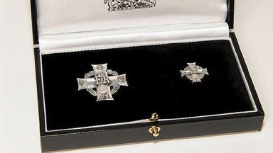 Honour: The Elizabeth Cross will be presented to Trooper Ian Caie's brother.