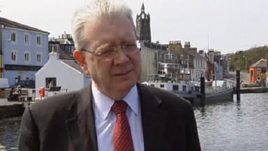 Support for farmers: Mike Russell.