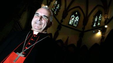 Cardinal O'Brien: The leader of the Catholic Church will give his Easter homily in Edinburgh.