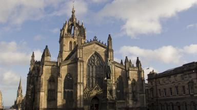 Venue: The Kirking took place at St Giles' Cathedral in Edinburgh.