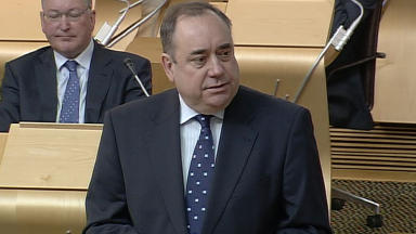 Alex Salmond: Elected as First Minister.