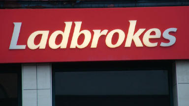 Ladbrokes: Armed robber raided shop in Coatbridge.