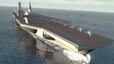 HMS Prince of Wales: Carrier to begin sea trials in 2019.