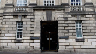 Court: The couple are waiting on a decision from the Court of Appeal in Edinburgh.