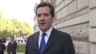 George Osborne: 'This government is delivering on promises'
