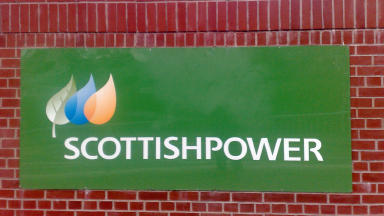 Scottish Power: Customer turned up at building with axe (file pic).