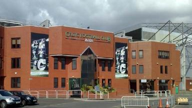 Celtic Park: Organisers want the parades to take place near the stadium only minutes after the end of a match.