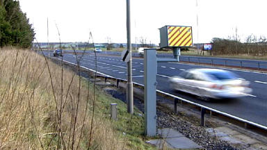 Speed camera: Hutton was clocked by police at 116mph.