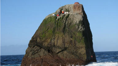 Rockall: Annexed by the UK in 1955.
