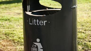 Litter bugs: Children in one part of Scotland will be fined if they throw away their rubbish.