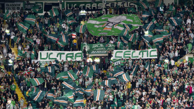 Controversy: The Green Brigade have been accused of singing pro-IRA chants.
