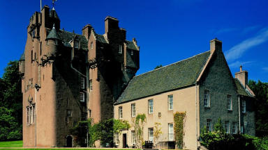 Enchanted: Thousands of visitors are expected at Crathes Castle.