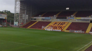 Tribute: The memorial will be a feature of the club's Fir Park stadium.