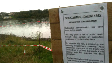 Dalgety Bay: Radiation hazard after particles found