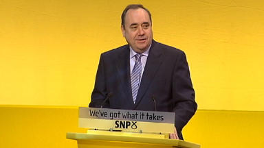Alex Salmond: Tour begins with St Andrew's dinner.