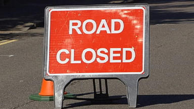 Road Closed: Landslip closes second route.