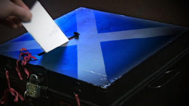 Referendum: Westminster to give more power to Scottish Parliament.