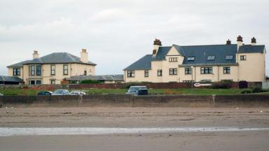 Prestwick Beach: Potentially hazardous material found on Ayrshire coastline.