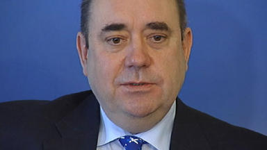 Interview: Mr Salmond pledged to 'rise above that sort of scaremongering nonsense'.