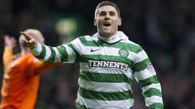 Gary Hooper is the SPL's leading goalscorer with 19 this term.