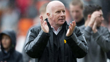 Peter Houston took over as manager of Dundee United in the summer of 2010.