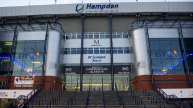 Scotland's national stadium Hampden Park.