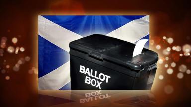 Independence referendum Scotland Tonight graphic