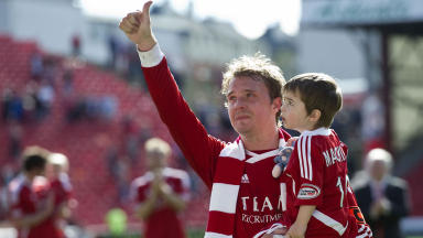 Darren Mackie spent 14 years at Aberdeen.
