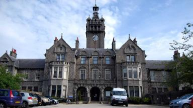 NHS Woodend Hospital in Aberdeen. Quality image