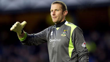 Inverness Caledonian Thistle goalkeeper Ryan Esson.