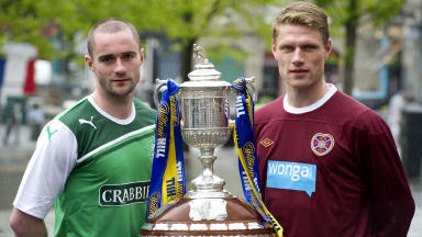 Hibs and Hearts Scottish Cup