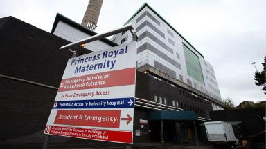 General view of Princess Royal Maternity hospital in Glasgow. Quality image