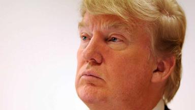 Portrait image of Donald Trump. Quality image.