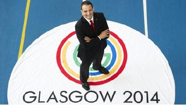 Confident: Glasgow 2014 chief executive David Grevemberg says he will deliver a successful Games on time.