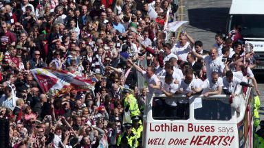 Cup Final: Hearts win the salt and sauce final