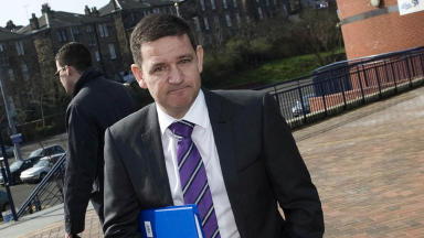 St Johnstone chairman Steve Brown